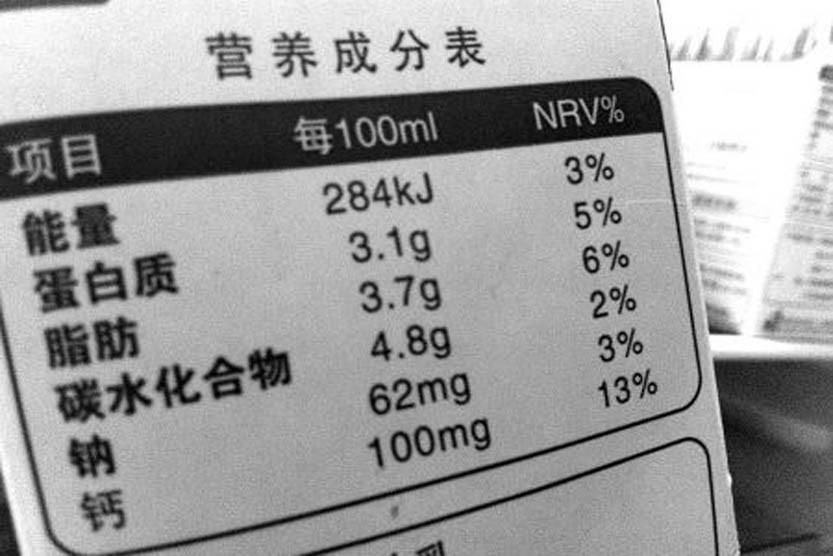 食品添加剂添加标准